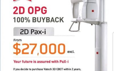 UNBELIEVABLE OFFER FOR VATECH 2D OPG MACHINE